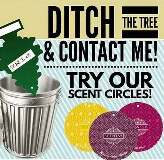 BUY 5 GET 1 FREE - Scent Circles are known to make your car smell great! Over 80 scents to choose from. https://daniellebowling.scentsy.us