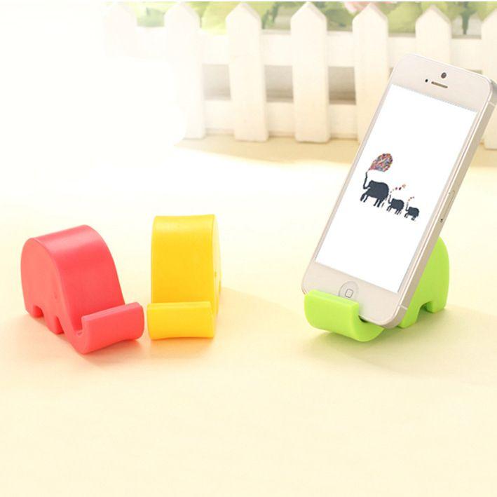 Đế đỡ điện thoại voi con màu sắc - Giá: 60.000đ