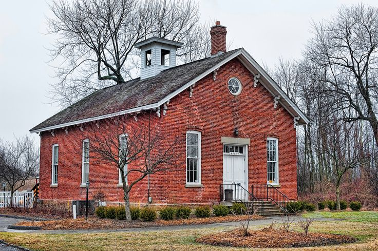 13 best images about red schoolhouses on pinterest for Old school house classics