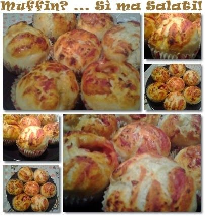 i miei muffins alla pizza
