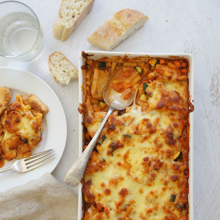 Stuck for dinner ideas? This Chicken and Macaroni Bake by TrishJ will be enjoyed by everyone.