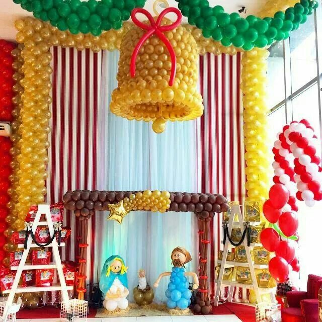 17 best images about balloons for christmas on pinterest for Candy cane balloon sculpture