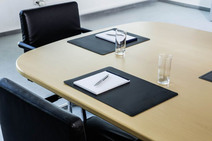 Provide a simple, yet professional finish to meeting tables.