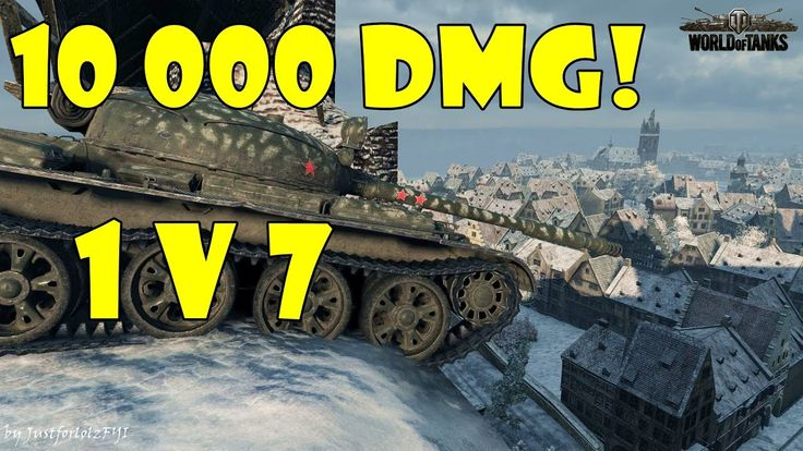 World of Tanks - EPIC! [T-62A | 1v7, 10.000 DMG by _Wiki]
