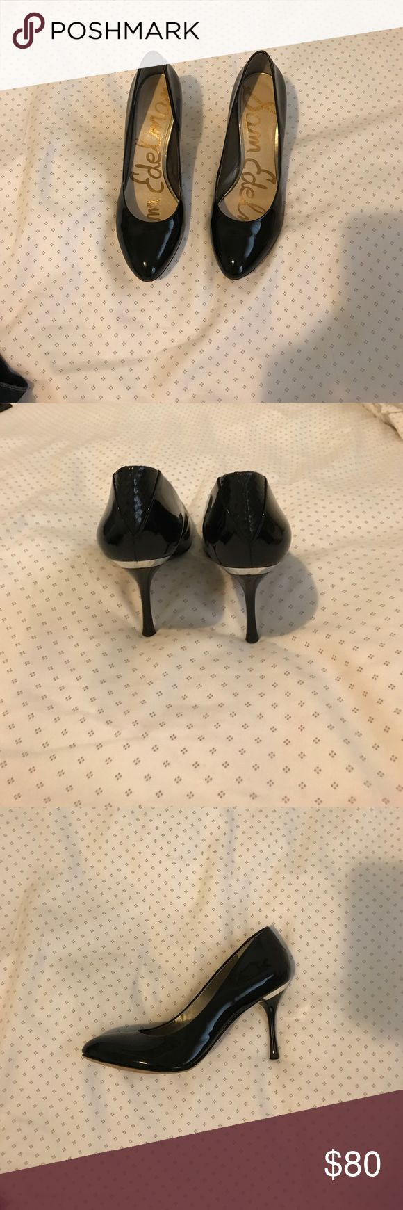 Black Sam Edelman Heels Black, patent leather Sam Edelman heels. Worn only 2x. Sam Edelman Shoes Heels