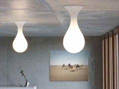 Lampada da soffitto in polietilene LIQUID LIGHT | Lampada da soffitto - Next Home Collection e.K.