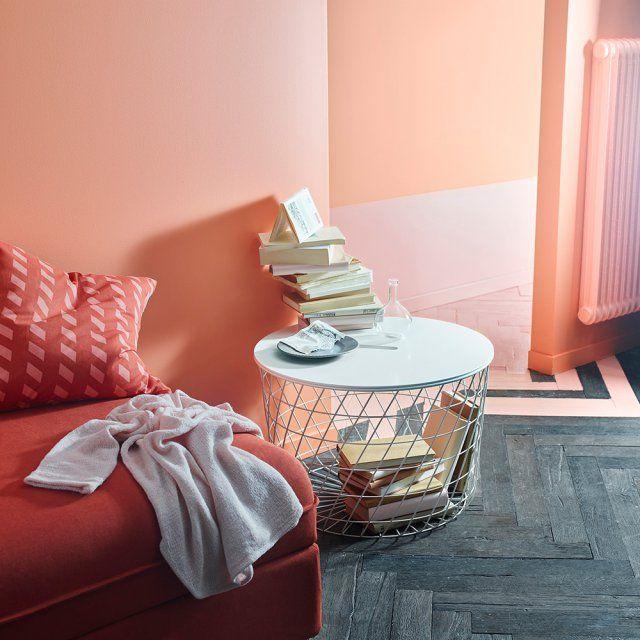 Table basse ronde rangement intégré, Ikea - Marie Claire Maison