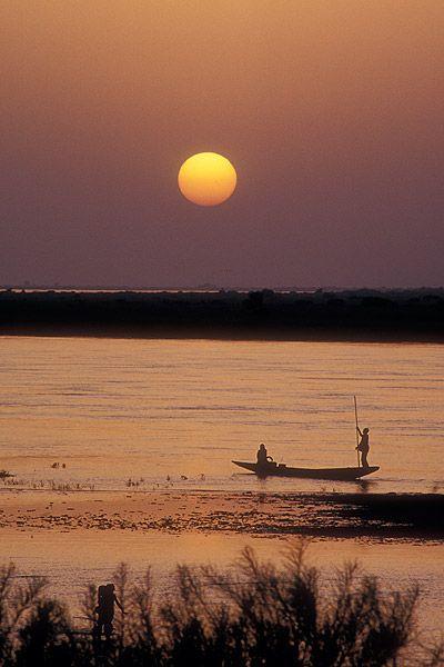 Rio Niger Niger River Mali #Africa, #pinsland, https://apps.facebook.com/yangutu