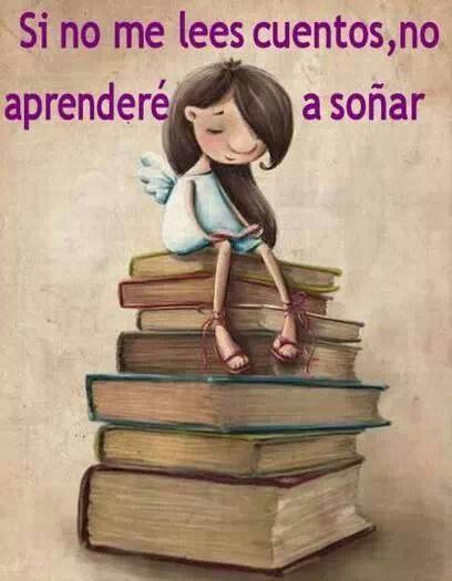Leer es soñar. Educar a un niño en la lectura es invitarlo a viajar, a soñar a crecer. Amo leer y quiero transmitírselo a mi hija porque es uno de los mejores regalos que le puedo hacer ❤️