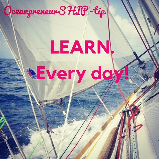 OceanpreneurSHIP-tip: LEARN every day! It brings us step by step closer to making dreams reality. Today is the day to start. Because! -> Worlds largest learning site has all their 42000 courses on sale for 10$ TODAY only. DO check it out: http://theoceanpreneur.com/learn (&link in bio) You can access them the rest of your life. And the best part, you can pull the courses offline on your phone or tablet. Perfect when going on an ocean crossing! I signed up for a video course, so watch this…