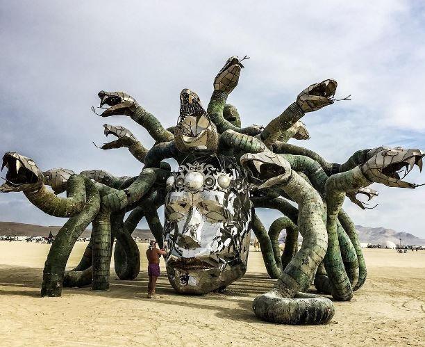 Les installations les plus spectaculaires du Burning Man 2016