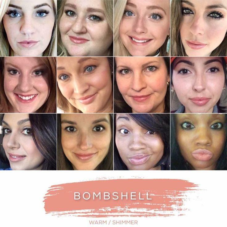Bombshell Lipsense Color