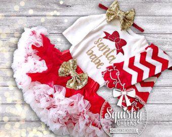 baby girl holiday dress – Etsy