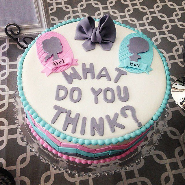 Cake Ideas For Baby Reveal Party : 127 best images about Gender Reveal Party on Pinterest ...