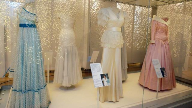 Princess Diana's dresses go on display at Kensington Palace, 20 years after her death