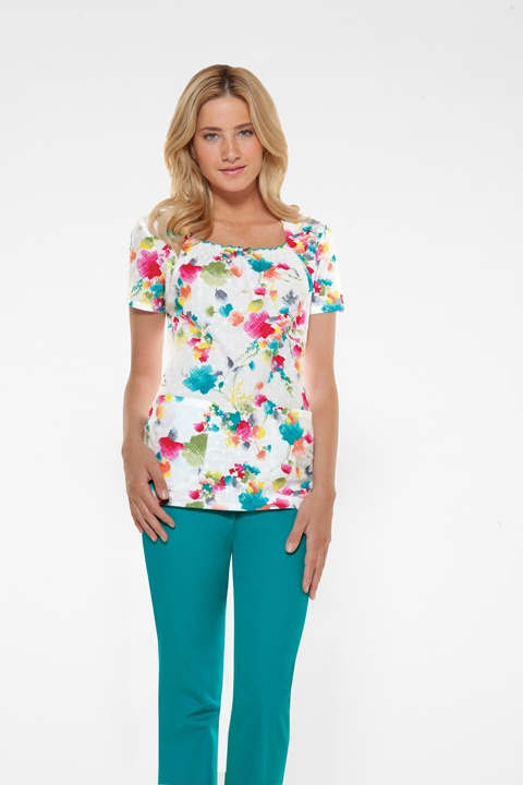 Cute scrubs for spring time! | Scrub Fashion | Pinterest | Smocking A smile and Originals