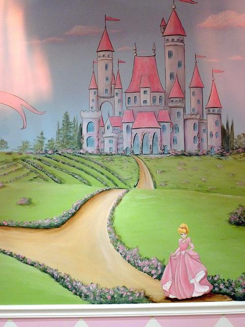 Best 25 Princess Mural Ideas On Pinterest Castle Mural
