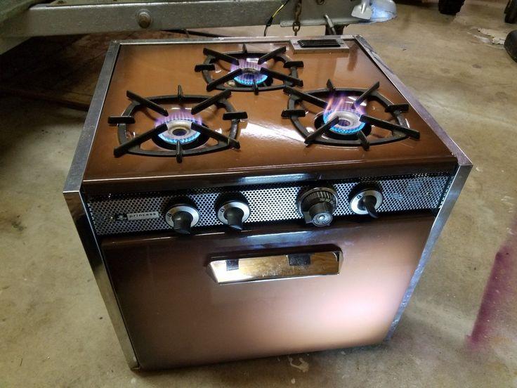 Vintage Princess 3 Burner Stove Oven Vintage Aristocrat Travel Trailer Camper | eBay