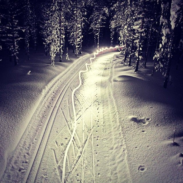 Week #8. Nightlife in Sorsele/Suorssá. #suorssá #sorsele #swedishlapland #xcskiing