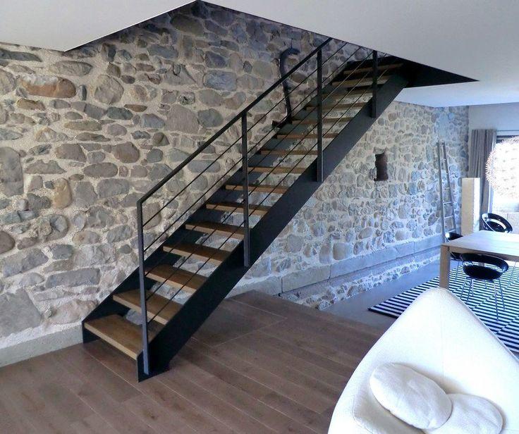 25 best ideas about escalier contemporain on pinterest escalier ouvert rambarde balcon and. Black Bedroom Furniture Sets. Home Design Ideas