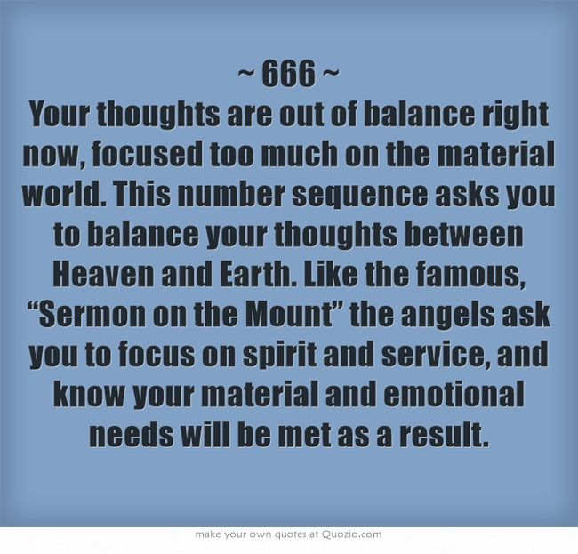 Numerology: Number 666 Meaning | #numerology
