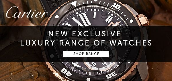 New Exclusive #Luxury Range of #watches from #Cartier