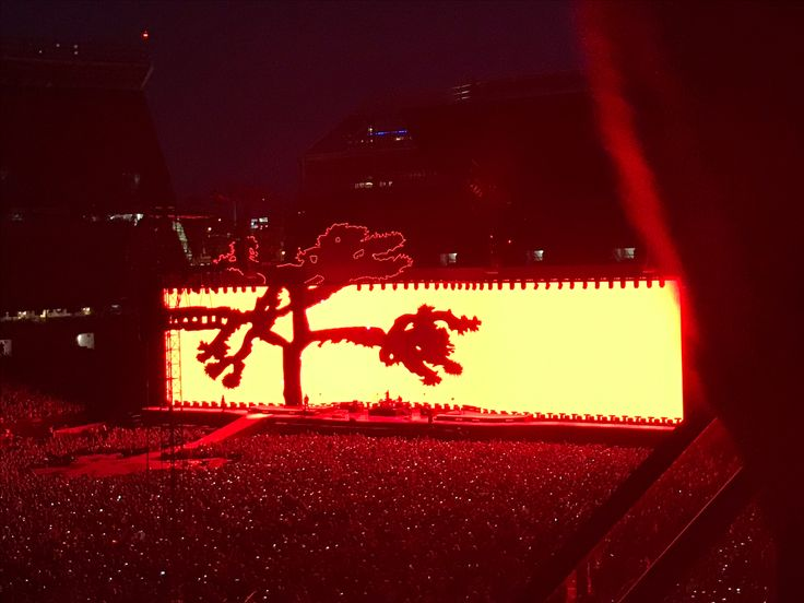 U2 Joshua tree tour 2017 first energy stadium!