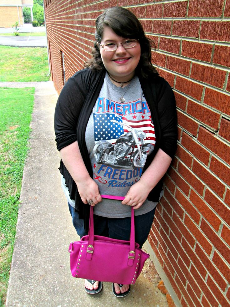 Unique Geek: Plus Size OOTD: American Riders #american #plussizefashion #plussizeoutfit #plussizeootd #plussize