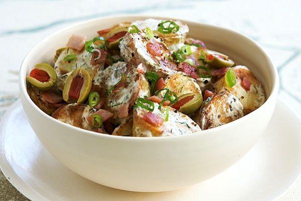 Insalata calda di anguilla e patate - La ricetta di Buonissimo