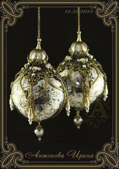 Новогодние украшения- `Венеция`, для дома ручной работы.Антонова Ирина.Ярмарка Мастеров.