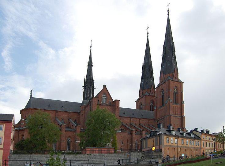 Uppsala domkyrka.