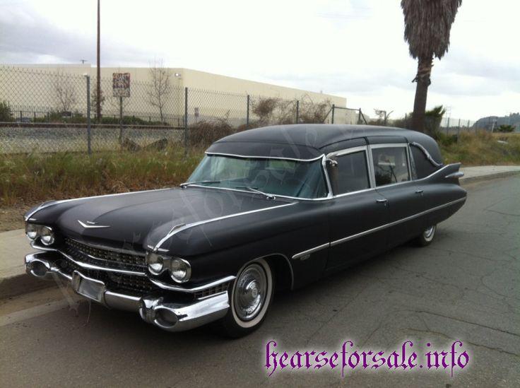1959 Cadillac Miller Meteor Landau Endloader Hearse <3 <3 <3