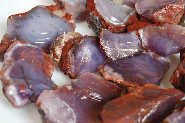 Chalcedony Purple-Lavender Color Natural Rough 1820 Gr. FROM / TURKEY #MineralStone