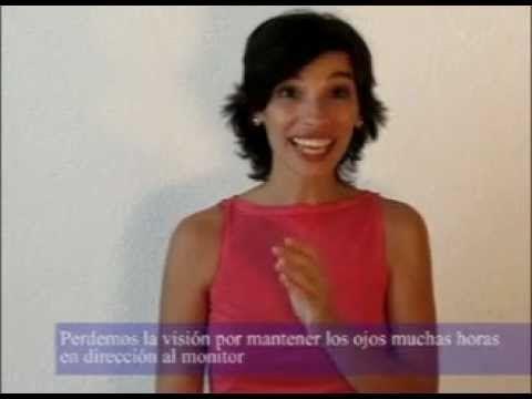 ▶ 07 Cómo relajar los ojos y mejorar la vista con Feldenkrais - Lea Kaufman - YouTube