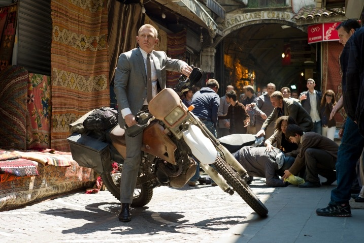 The Stunts of Skyfall - Dirt Bike