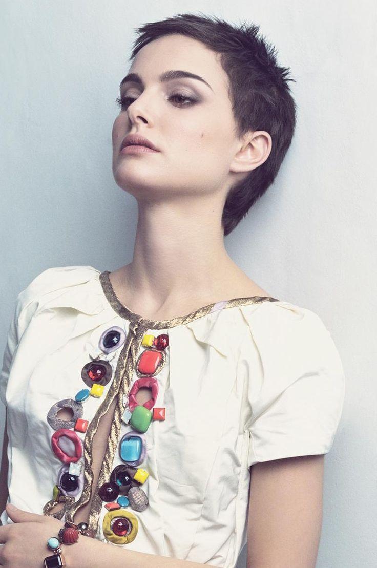 Natalie Portman upshot in silly shirt.