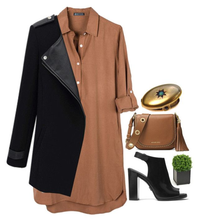 Preadored 3.15 by emilypondng on Polyvore featuring polyvore fashion style United by Blue Michael Kors MICHAEL Michael Kors Distinctive Designs clothing PreAdored