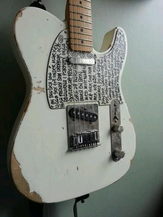 Very interesting looking Telecaster #Guitar…
