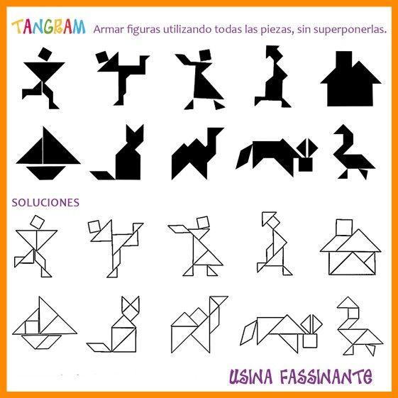 Tangram Puzzles, Activities, Math
