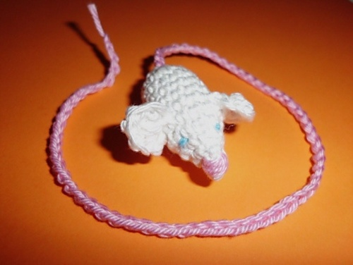 Ravelry: Mouse Bookmark pattern by Lydia Busek: Mice, Libraries, Mouse Bookmark, Crochet Mouse, Patterns, Crochet Krazy Bookmarks, Crafts