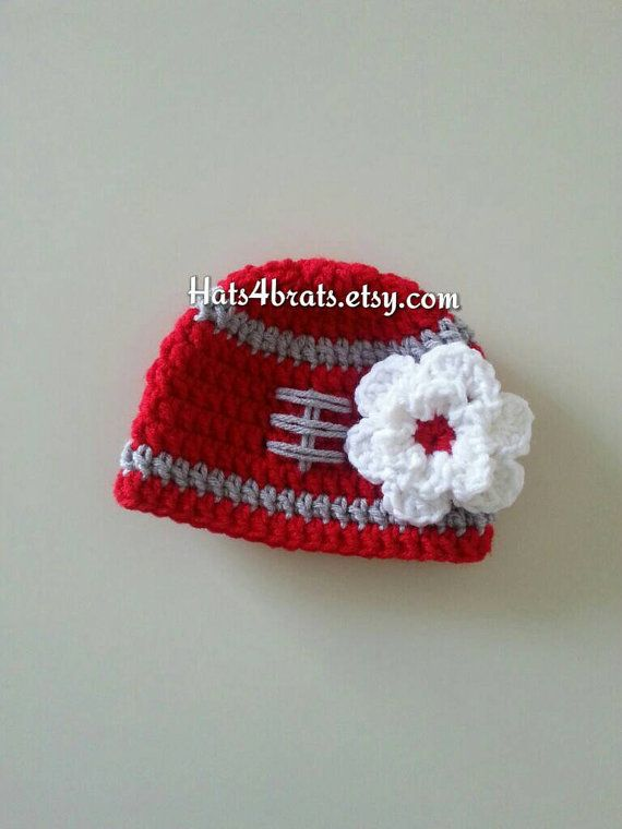 Hey, I found this really awesome Etsy listing at https://www.etsy.com/listing/229468792/ohio-state-baby-girls-hat-ohio-state