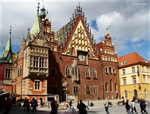 Wrocław - city hall.