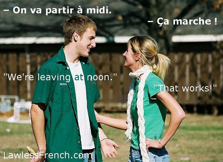 "Ça marche - ""That works, Fine""    http://lawlessfrench.com/expressions/ca-marche/  #frenchexpression #learnfrench #fle #french"