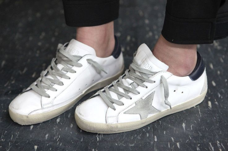 Golden Goose 17 F/W Men's LowTop Superstar Sneakers GCOMS590 A7 Deluxe Brand #GoldenGoose #FashionSneakers
