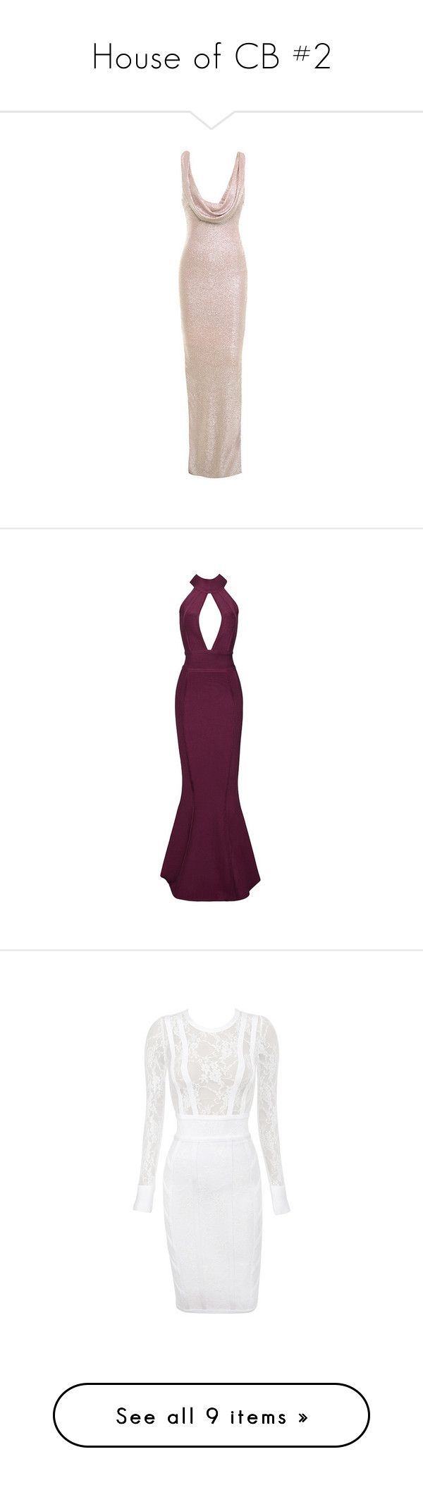 """""""House of CB #2"""" by deborahsauveur ❤ liked on Polyvore featuring dresses, pale pink maxi dress, maxi dresses, drape dress, pastel pink dress, sexy backless dresses, sexy evening gowns, evening maxi dresses, purple maxi skirt and purple evening gowns"""
