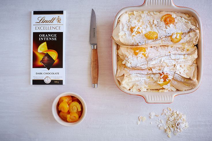 Orange Intense Salzburg Nockerl - LINDT EXCELLENCE recipe crafted in collaboration with Le Creuset