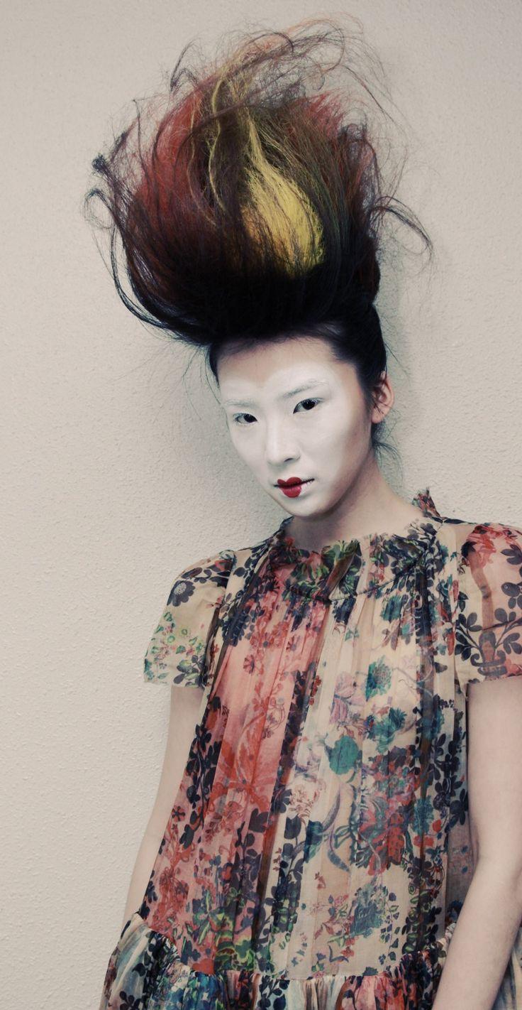 CATWALK by TIGI collaborates on Semele Walk, Wardrobe and styling by Vivienne Westwood    Hair by CATWALK by TIGI Akos Bodi, TIGI European Creative Director