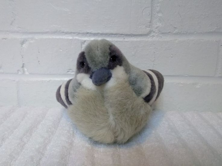 2012 K Amp M Wild Republic Chirping Bird Stuffed Animal Plush
