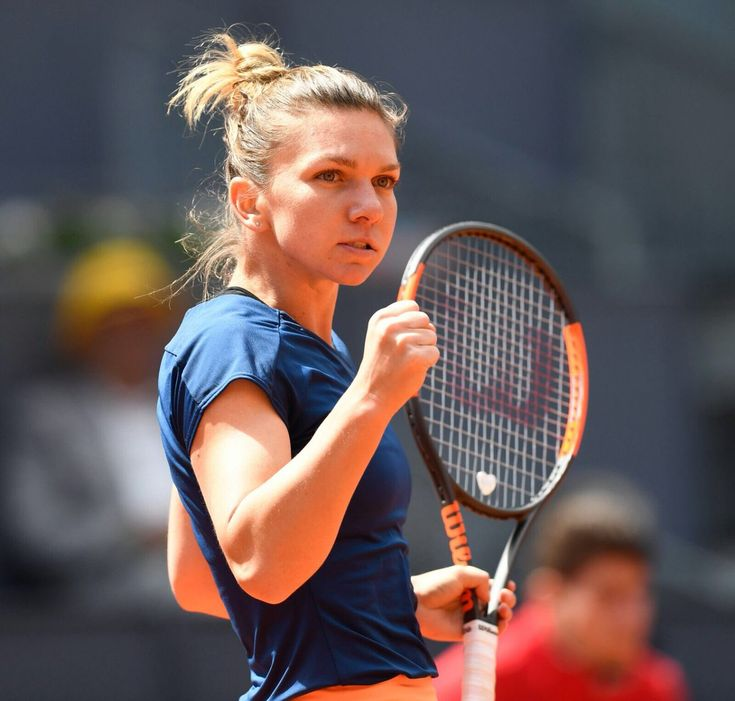 5/11/17 Our Madrid Defending Champion still on course!... UNSTOPPABLE! Simona Halep advances to #MMOPEN semifinals after beating Coco Vandeweghe by a 6-1 double!