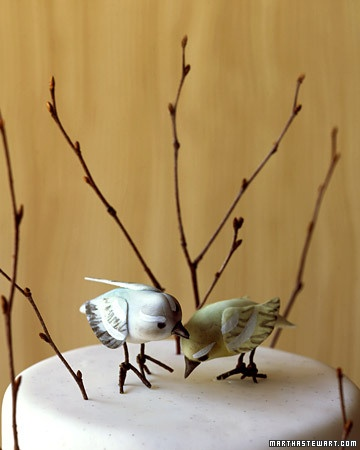 not a flower I know, but I love these gumpaste birds by Wendy Kromer